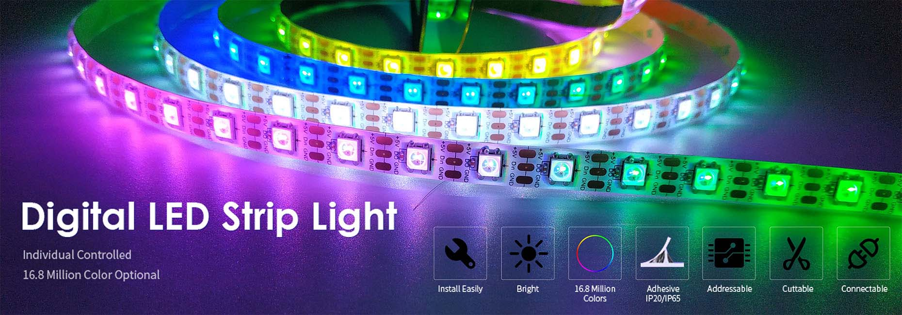 Digital LED Strip Light